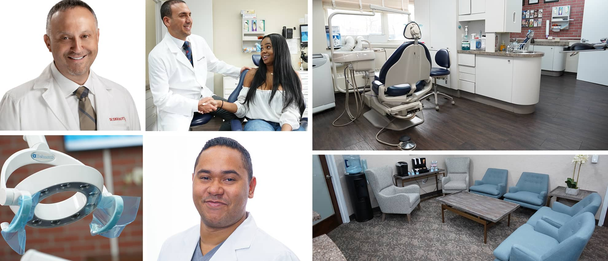 Collage of our expert dentists in White Plains, NY